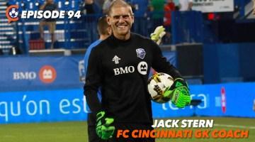 FC Cincinnati's New Goalkeeper Coach Jack Stern