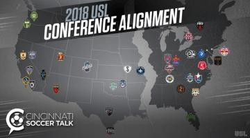 USL Announces 2018 Conference Alignment – Bye Saint Louis FC