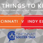 FC Cincinnati vs. Indy Eleven: Preseason — 5 Things to Know