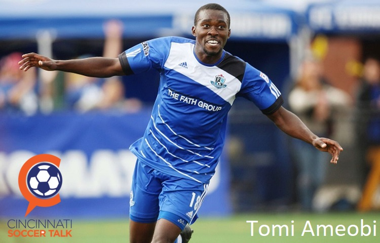 FC Cincinnati add Striker Tomi Ameobi to their Roster