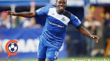 FC Cincinnati add Striker Tomi Ameobi to their Roster