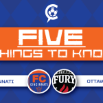 FC Cincinnati vs. Ottawa Fury FC: 5 Things to Know
