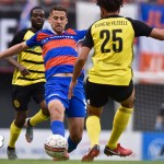FC Cincinnati's Nazmi Albadawi Visits with CST