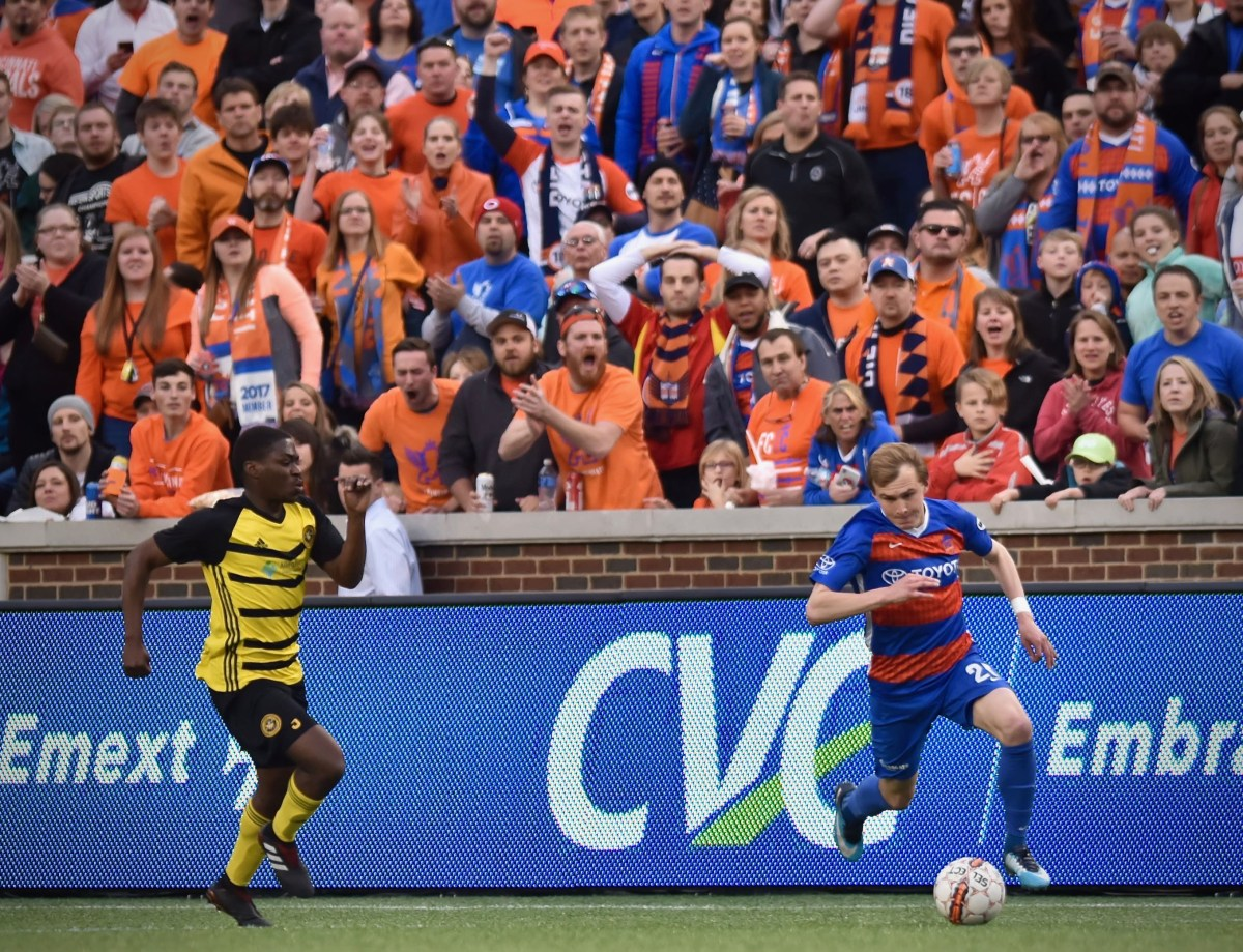 US Open Cup Match Report: FC Cincinnati at Pittsburgh Riverhounds SC