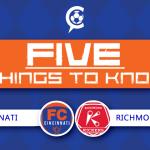 FC Cincinnati vs Richmond Kickers: 5 Things to Know