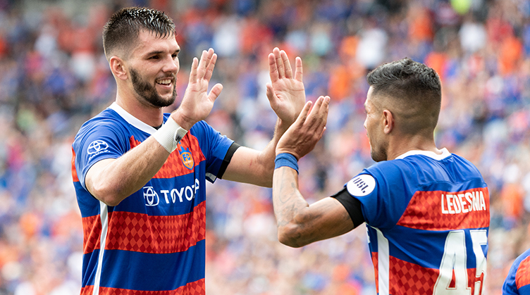 FC Cincinnati's Lasso named USL Defender of Year