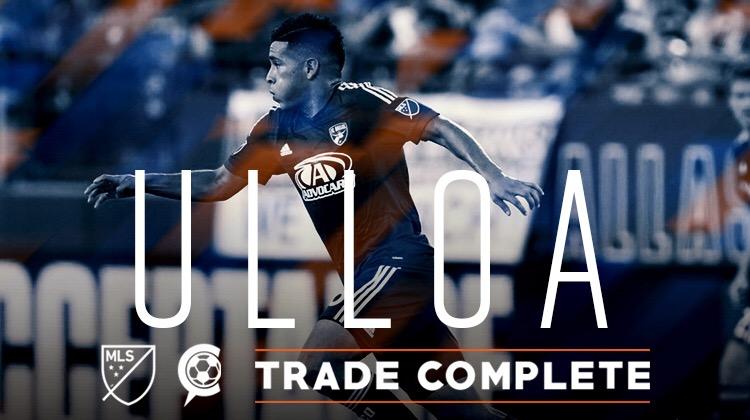 FC Cincinnati Completes Trade for Midfielder Victor Ulloa