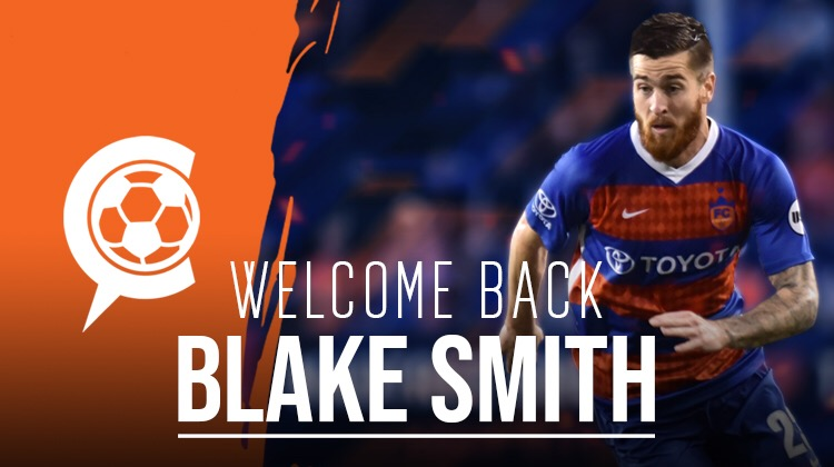 FC Cincinnati announces signing of Blake Smith to Major League Soccer roster