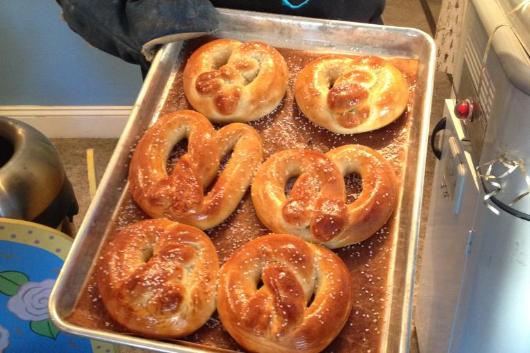 the pretzel place south