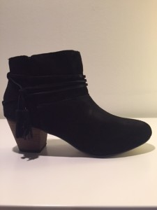 These suede booties retail for only $95!!
