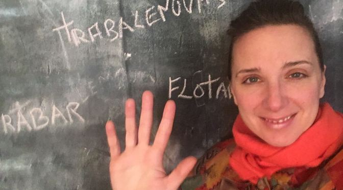 ESCRIBE TU RELATO DE NOVIEMBRE (IV): MARGARITA ZAFRILLA OLAYO, BAILARINA Y COREÓGRAFA