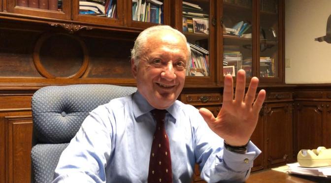 ESCRIBE TU RELATO DE NOVIEMBRE (II): Dr. Norberto Fraga, rector de la Universidad Privada UdeMM