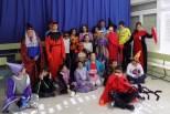 Los alumnos del ET 3 disfrazados para celebrar Halloween 2