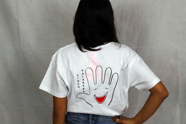 Camiseta Niña Espalda