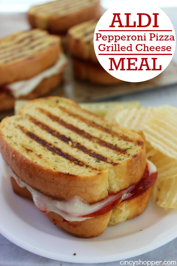 Texas Toast Grilled Cheese Sandwich