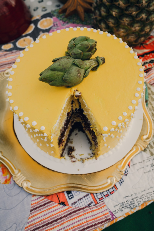 1960's wedding cake