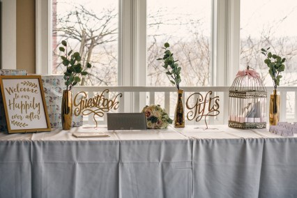 place card table by JPB designs