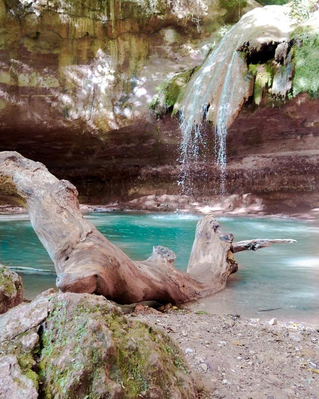 cascade var bagnols en foret