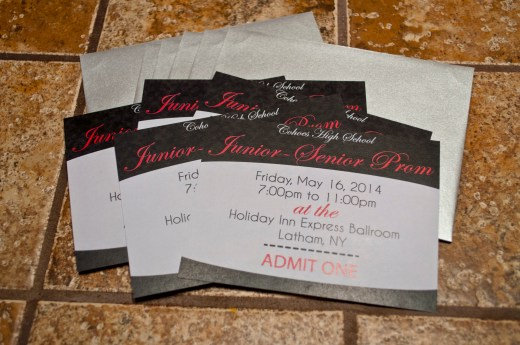 Cohoes HS Invitations