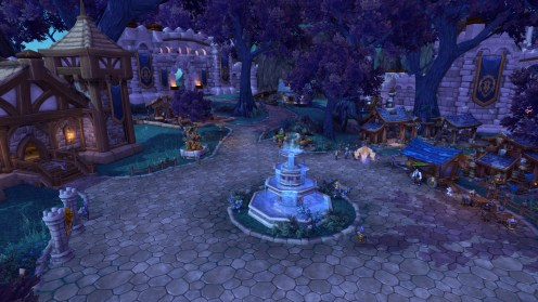 Look at that fountain!!!