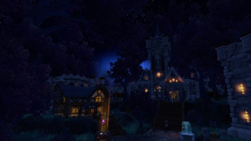 Alliance garrison looks so magical!