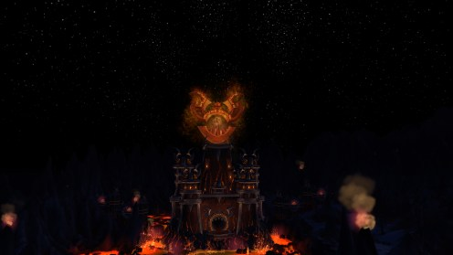 Firelands entrance... there's doom in there!
