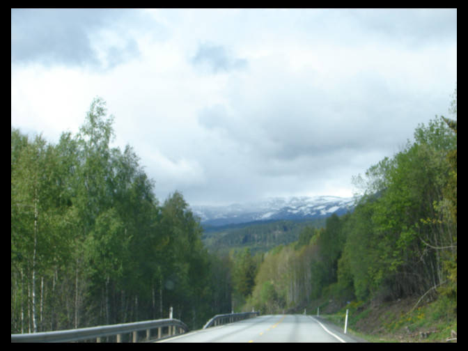 May 2006 - trip from Oslo to Bergen