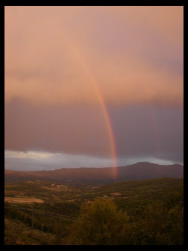 September 5, 2007 - Tuscany rainbow