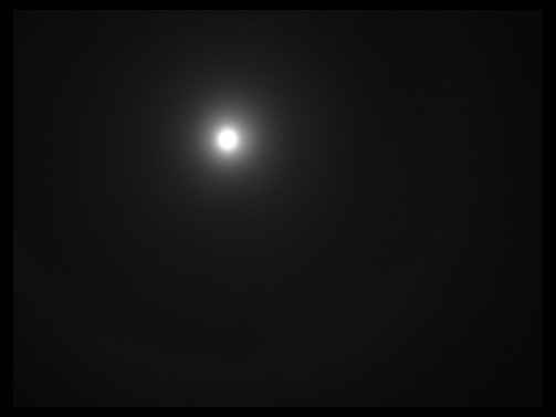 December 31, 2009 - New Year's Eve moon