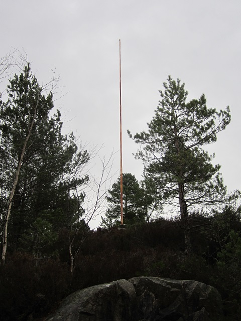 March 2014 abandoned flag pole