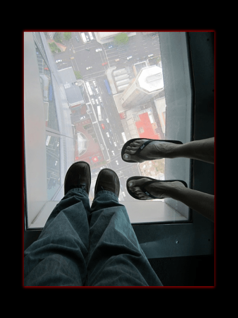 January 2012 - Auckland Skytower