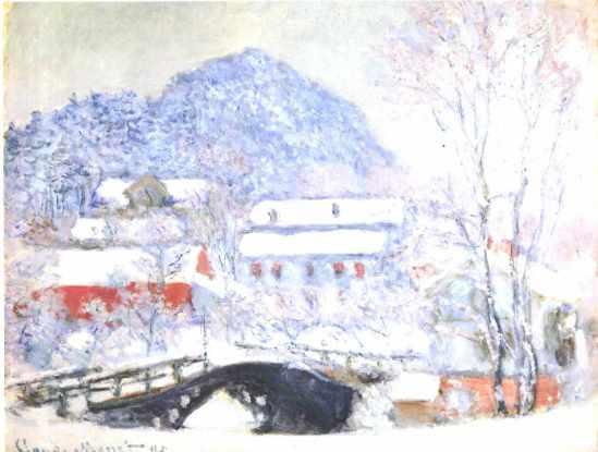 Claude Monet - Sandviken in Bergen, Norway