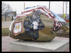 December 7, 2014 - Freedom Rock in Ottumwa, Iowa