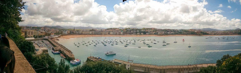 vue sur San Sebastián