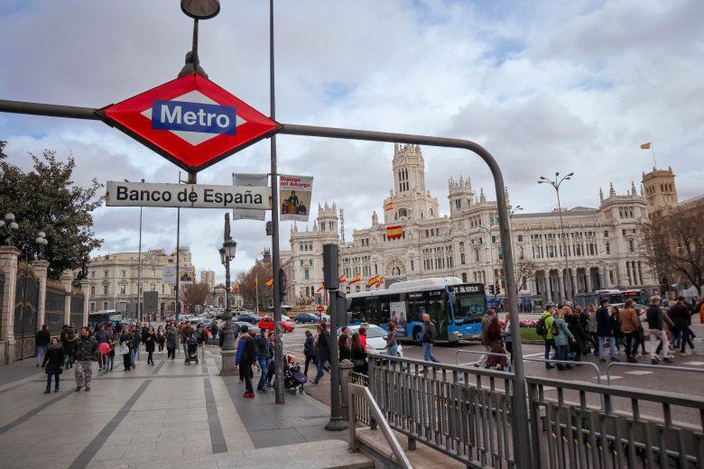 bouche de métro Madrid