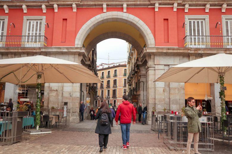 Arche de la Plaza Mayor