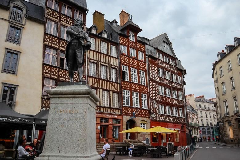 Place du Champ Jacquet, Rennes
