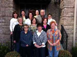 Rug Hooking Workshop Class at Pat VanArsdale's house