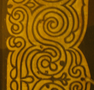 Day 1200 Border Design Finalized on Room Sized Rug