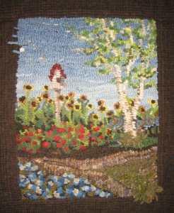 Jasmine's Butterfly Garden designed by Jeanne Benjamin