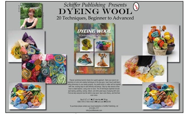 New Dye Book: Dyeing Wool by Karen Schellinger