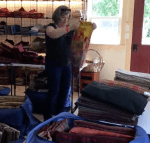 packing for rug hooking camp