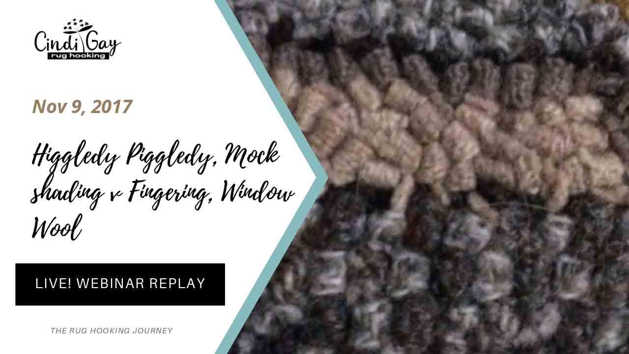 Higgledy Piggledy, Mock shading v Fingering, Window Wool