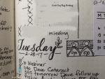 bullet journal doodle