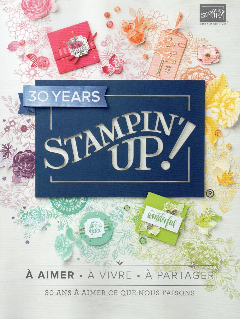 CATALOGUE ANNUEL STAMPIN'UP 2018-2019