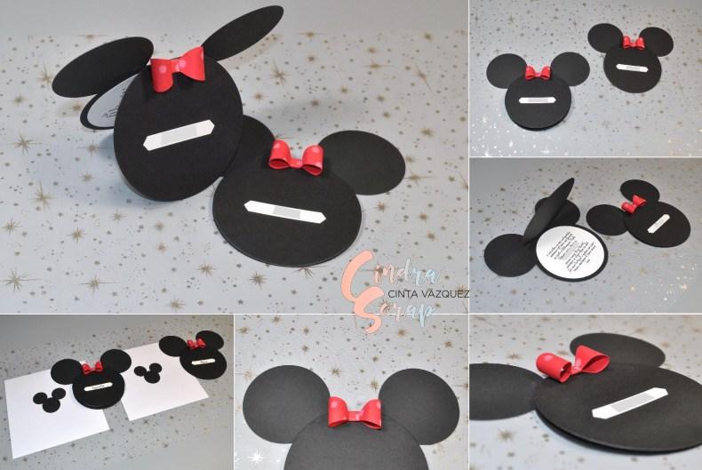 Invitations d'anniversaire Minnie