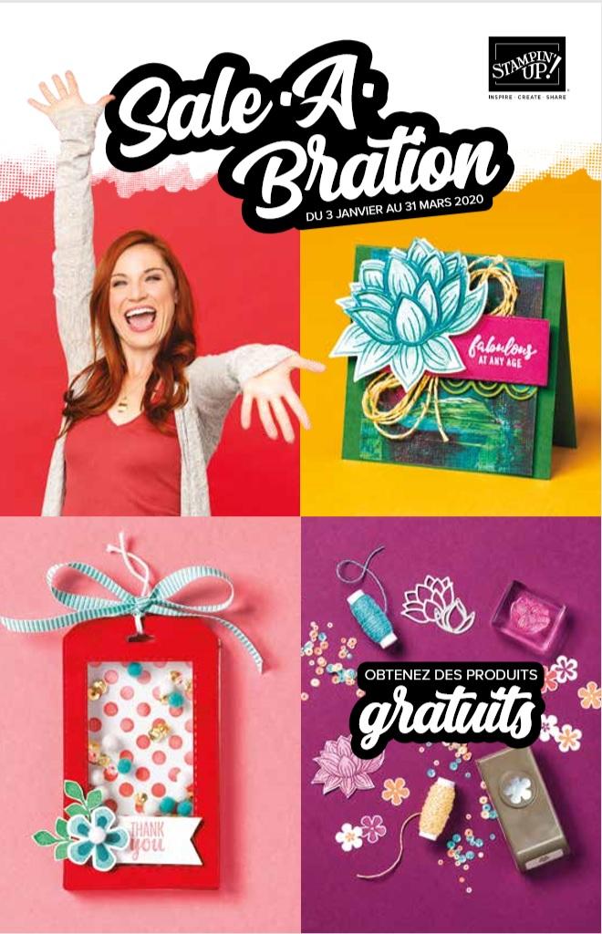BROCHURE SALE-A-BRATION 2020 Mini-catalogue Stampin'Up! Printemps - Été 2020