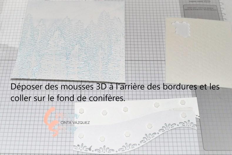 Montage Carte à bordures