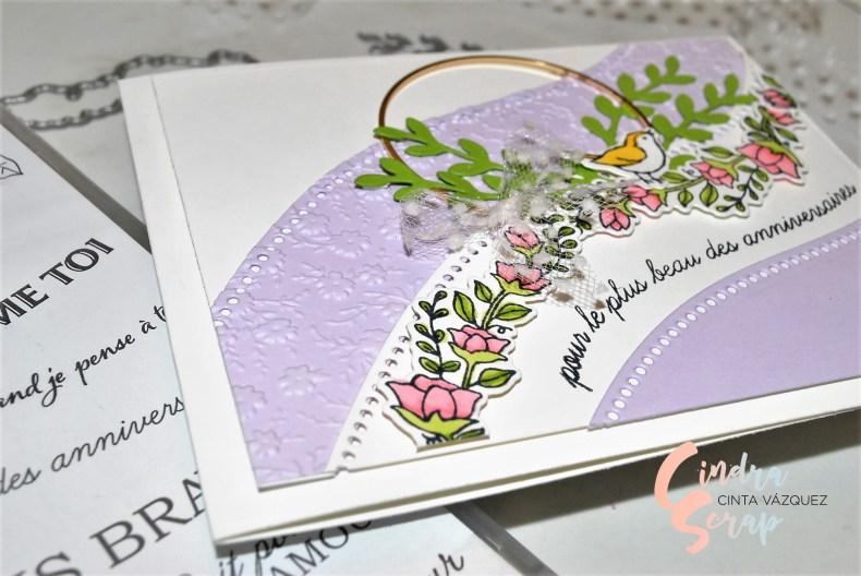 Carte anniversaire Belles Courbes