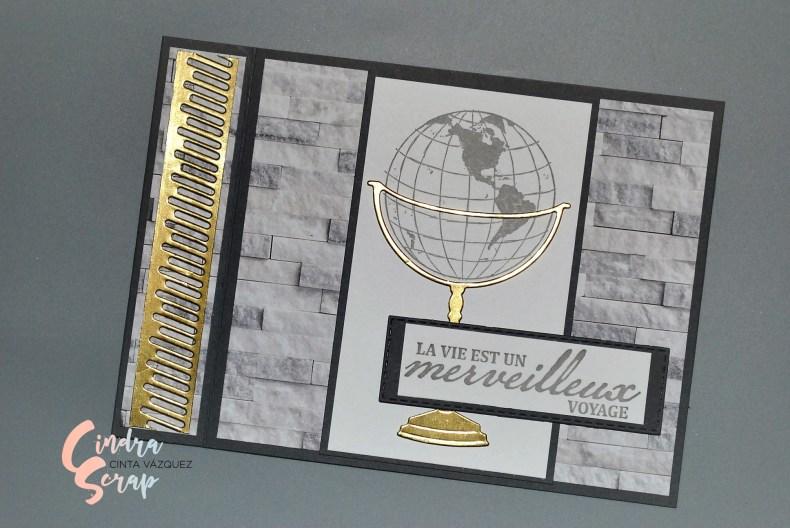 "Carte masculine ""Lot merveilleux voyage"""